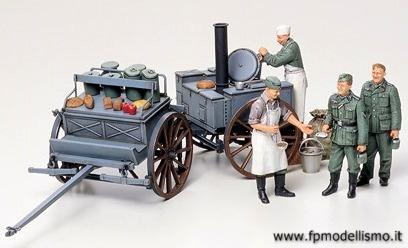 collezionismo : cucina da campo tedesca 1:35 tamiya 35247 * euro 14