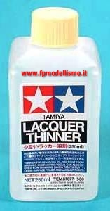 Lacquer Thinner Diluente 250ml Tamiya 87077 * Euro 9,20 (Iva Incl.)