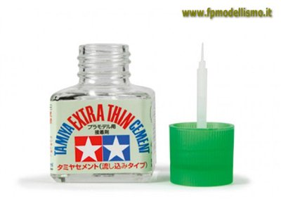 Colla Extra Thin Cement Sottile 40ml TA87038 * Euro 5,40 (Iva Incl.)  Art. Temporaneamente Non Disponibile