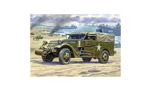 M3 Armoreud Scout Car 1:35 ZVEZDA 3581 * Euro 15,40 in Kit ** Euro 30,00 Costruito (Iva Incl.)