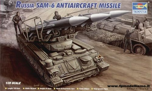 Russian SAM-6 antiaircraft missile in scala 1:35 TR00361 Euro 26,50 (Iva Incl.)