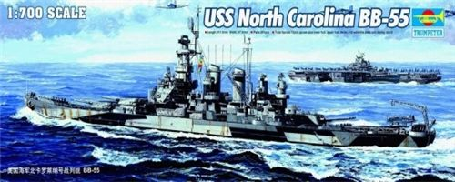 USS North Carolina BB-55 in scala 1:700 TR05734 * EURO 28,50 (Iva Incl.)