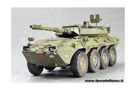 Italian B1 Centauro Tank Destroyer in scala 1:35 TR00386 * EURO 40,00 in Kit ** EURO 89,00 Costruito (Iva Incl.)