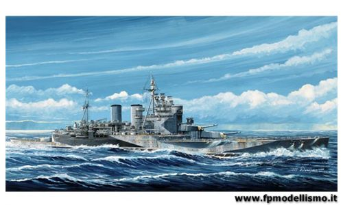 HMS RENOWN 1945 in scala 1:700 TR05765 * EURO 34,50 (Iva Incl.)