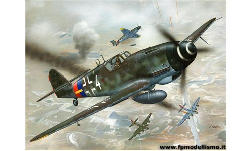 Messerschmitt Bf 109 G-10 in scala 1:72 Revell 04160 * EURO 12,00 (Iva Incl.)