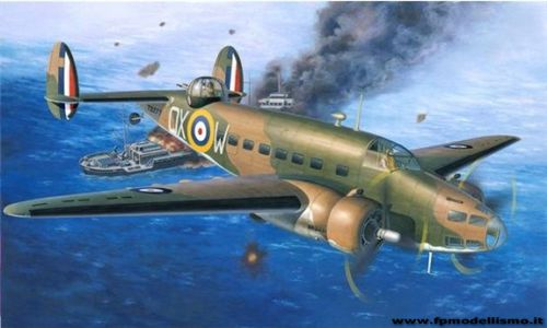 Hudson Mk. I/II Patrol Bomber in scala 1:72 RE04838 * EURO 21,00 (Iva Incl.)