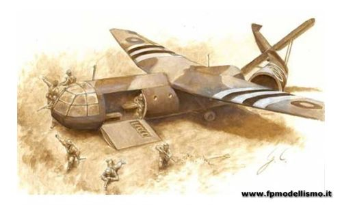 Aliante AS.51 Horsa Mk.I with British Paratroops 1:72 IT1356 * Euro 21,00 (Iva Incl.)
