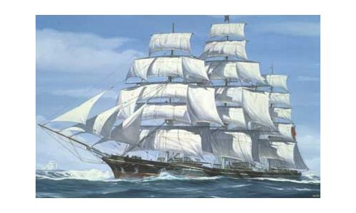 Cutty Sark 1869 in scala 1/220 Revell 05401 * EURO 26,20 in kit ** Euro 186,00 Costruita (Iva Incl.)