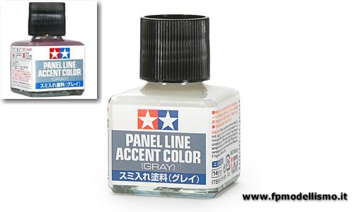 Panel Line Accent Color - Gray Tamiya 87133 * EURO 6,30 (Iva Incl.)