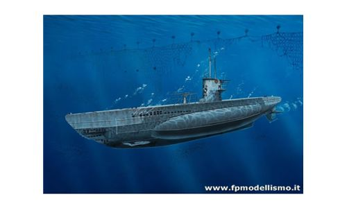 NEW! German Submarine Type II B (1943) scala 1:144 Model Set Re65155 * EURO 24,50 in Kit ** Euro 54,50 Costruito (Iva Incl.)