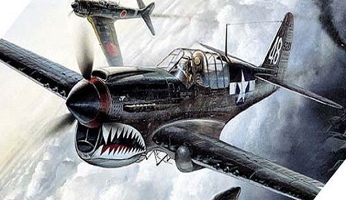 P-40M/N WARHAWK in scala 1/72 Academy 12465 * EURO 12,00 in Kit ** Euro 37,00 Costruito (Iva Incl.)