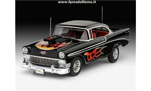 '56 Chevy Custom in scala 1:24 Revell 07663 * EURO 31,40 in Kit * Euro 61,40 Costruito (Iva Incl.)