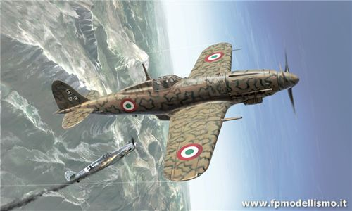 MACCHI MC.205 VELTRO in Scala 1:48  IT2765 * EURO 34,00 in Kit ** Euro 74,00 Costruito (Iva Incl.) Art. Temporaneamente Non Disponibile