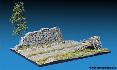 Country Road in scala 1/35 MiniArt 36047 * EURO 26,60 in Kit * Euro 56,60 Costruito (Iva Incl.)