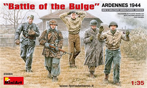 """Battle of the Bulge"" Ardennes 1944 in scala 1/35 MiniArt 35084 * EURO 13,50 in Kit ** EURO 33,50 Costruito (Iva Incl.)"