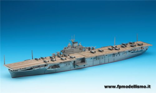 Portaerei USS Essex 1943 in scala 1/700 Has707 * * EURO 29,00 in Kit ** Euro 79,00 Costruita (Iva Incl.)