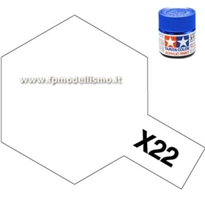 Colore Clear (Trasparente Lucido) X22 Tamiya 10 ml * EURO 2,60 (Iva Incl.) Disponibilit� 5