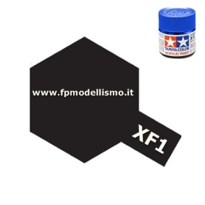 Colore Flat Black XF1 Tamiya 10 ml * EURO 2,60 (Iva Incl.) Disponibilità 8
