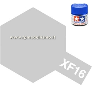 Colore Flat Aluminum XF16 Tamiya 10 ml * EURO 2,60 (Iva Incl.) Disponibilit� 4