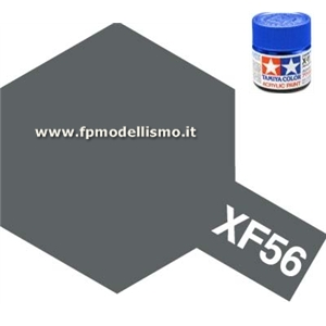 Colore Metallic Grey XF56 Tamiya 10 ml * EURO 2,60 (Iva Incl.) Disponibilit� 3