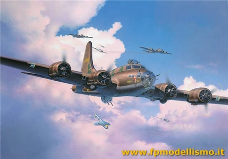 B-17F Memphis Belle in scala 1:48 Revell 04297 * EURO 44,50 (Iva Incl.)