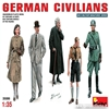 German Civilians in scala 1:35 MiniArt * Euro 11,00 in Kit * Euro 31,00 Costruiti (Iva Incl.)