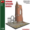 DIORAMA w/RUINED CHURCH 1:35 MiniArt 36030 * EURO 26,00 (Iva Incl.)