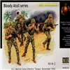 Figurini Bloody Atoll series kit.2 US Marine corps infantry, Tarawa, 1943 1:35 MASTERBOX 3543 * Euro 13,50 (Disponibilit� 1)