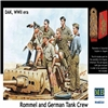 Figurini Rommel and German Tank crew  DAK, WWII 1:35 MASTERBOX 3561 * Euro 15,80 (Iva Incl.) Art. Temporaneamente Non Disponibile