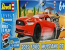Build & Play - 2015 Ford Mustang GT in Scala 1:25 Revell 06110 * EURO 11,90 (Iva Incl.)