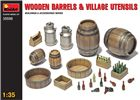 Wooden Barrels and Village utensils in scala 1:35 MiniArt 35550 * EURO 9,90