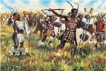Guerre Coloniali: ZULU WARRIORS in scala 1:72 Italeri 6051 * EURO 9,50 in kit * Euro 29,50 Costruiti (Iva Incl.)