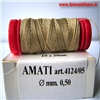 Filo per Manovre Velieri REFE 0,50mm mt20 AMATI 4124/05 * Euro 1,70 (Iva Incl.)  Disponibilit� 10