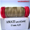 Filo per Manovre Velieri REFE 0,25mm mt20 AMATI 4124/02  * Euro 1,50 (Iva Incl.) Disponibilit� 10