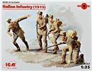 New! Italian Infantry (1915) in scala 1:35 ICM 35687 * EURO 14,00