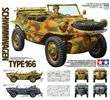 German Schwimmwagan Type 166 in scala 1:35 Tamiya 35224 * EURO 18,60 (Iva Incl.) Art. Temporaneamente Non Disponibile