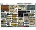 German Roadsigns Russia Diorama in scala 1:35 VERLINDEN V0020 * Euro 7,40 (Iva Incl.)
