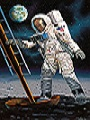 Apollo 11 Astronaut on the Moon 1:8 Revell 03702 * EURO 35,00 in Kit ** Euro 80,00 Costruito (Iva Incl.)