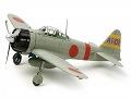 Mitsubishi A6M2b (ZEKE) - Zero Fighter 1/72 Tamiya 60780 * EURO 23,00 in Kit ** Euro 43,00 Costruito (Iva Incl.)