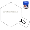 Colore Clear (Trasparente Lucido) X22 Tamiya 10 ml * EURO 2,60 (Iva Incl.) Disponibilit� 4