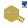 Colore Dark Yellow XF60 Tamiya 10 ml * EURO 2,60 Iva Incl. (Disponibilit� 7)