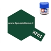 Colore Dark Green XF61 Tamiya 10 ml * EURO 2,60 (Iva Incl.) Disponibilit� 10