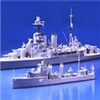 British Navy Hood & E-Class Destroyer 1:700 Tamiya 31806 * EURO 38,00 in Kit ** Euro 78,00 Costruite (Iva Incl.)