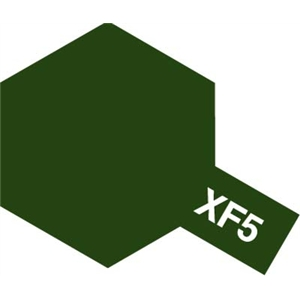 Colore Flat Green XF5 Tamiya 10ml * Euro 2,60 (Iva Incl.) Disponibilità 5