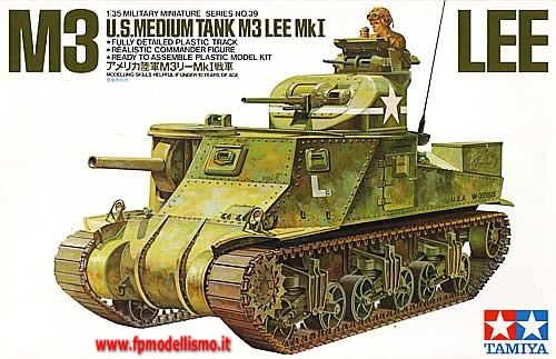 Carro Armato U.S. M3 Tank Lee Mk. I 1:35 Tamiya 35039 * EURO 27,00 in Kit ** EURO 57,00 Costruito (Iva Incl.)