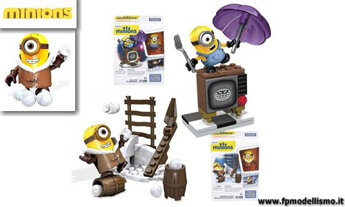 DOPPIA OFFERTA: MINIONS Movie Snowball Fi + MINIONS Movie Silly TV * 2 kit EURO 10,00 Iva Incl. (Singolo Kit EURO 7,90)