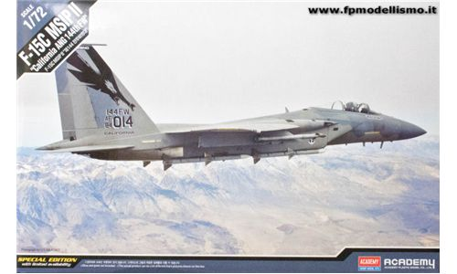 F-15C MSIP II in scala 1:72 Academy 12531 * EURO 23,60 in Kit ** Euro 63,60 Costruito (Iva Incl.)