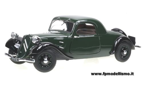 OFFERTA DIE CAST: CITROEN - TRACTION AVANT 11 COUPE 1938 scala 1/18 * EURO 28,50 (Iva Incl.)