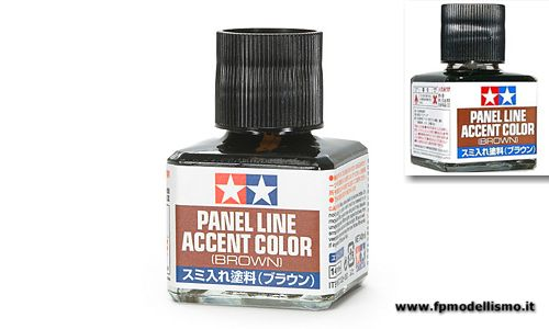 Panel Line Accent Color - Brown Tamiya 87132 * EURO 6,30 (Iva Incl.) Disponibilit� 2