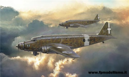 SM-82 Marsupiale in scala 1/72 IT1389 * EURO 41,50 in Kit ** Euro 91,50 Costruito (Iva Incl.)
